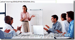 jadwal training DEVELOPING PERSONAL SKILL