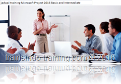 jadwal training basic and intermediate ms project 2016
