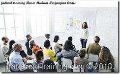 jadwal training LEGAL ASPECT IN BUSINESS