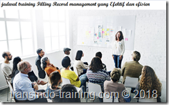 jadwal training Effective Filling Record Management