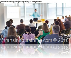jadwal training quality in a project