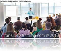 jadwal training Langkah-langkah study Value Engineering