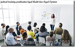 jadwal training LEGAL AUDIT AND LEGAL OPINION DRAFTING