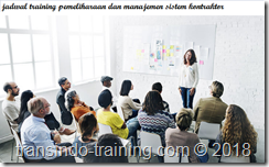 jadwal training CONTRACTOR SAFETY MANAGEMENT SYSTEM