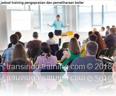 jadwal training BOILER OPERATION MAINTENANCE AND TROUBLESHOOTING