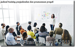 jadwal training PROJECT PLANNING AND SCHEDULING