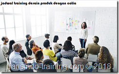 jadwal training Product Design By Catia