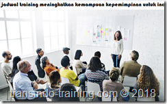 jadwal training Leadership, Innovation and Enterprise Skills